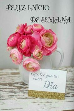 Morning Love Quotes, Good Morning Funny, New Week Quotes, Benfica Wallpaper, Coffee Flower, Beautiful Gif, Morning Greeting, Spanish Quotes, Happy Day