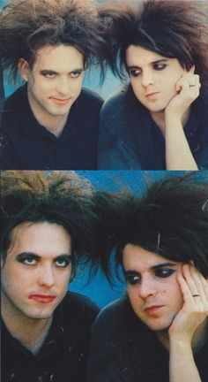 robert smith and simon gallup - this makes me too happy