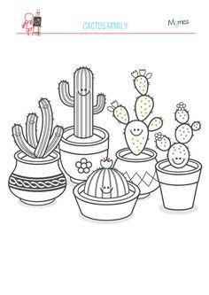 Coloriage le cornet de glace sports et plein air - Coloriage cactus ...