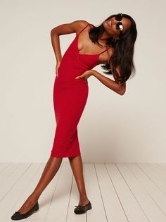 Feeling uncute? Try this dress. This is a tight fitting dress with spaghetti straps and a v neckline. http://bit.ly/2iknbmH