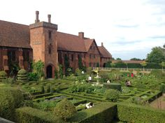 jardins de hatfield house côté labyrinthe