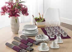 Inspire-se em diferentes modelos de arrumação de mesa para receber amigos e família.
