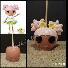 Lalaloopsy candy apple!