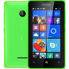 Buy Microsoft Lumia 532 UNLOCKED RM-1032 Dual Sim Windows Phone 2G GSM 850/900/1800/1900MHZ, WCDMA 850/900/1900/2100MHZ (Green) USED for 45 USD | Reusell