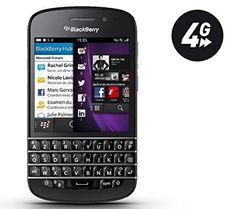 BlackBerry Q10 16GB 4G Negro – Smartphone (7,87 cm (3.1″), 720 x 720 Pixeles, AMOLED, 1,5 GHz, 2048 MB, 16 GB)
