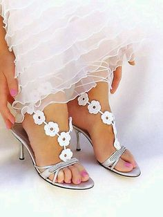 crochet shoeless sandals