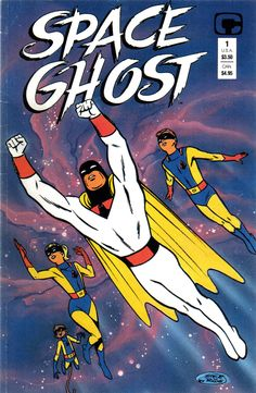 Space Ghost, who was later the host of the hilarious Cartoon Planet and Space Ghost Coast to Coast.