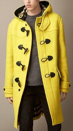 Trenca big woolen | Burberry