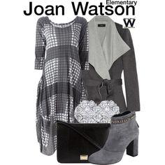 Inspired by Lucy Liu as Joan Watson on Elementary.