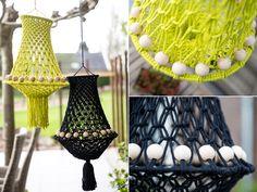 Crochet Chart, Diy Crochet, Diy Macrame Wall Hanging, Creative Lamps, Diy Chandelier, Macrame Tutorial, Boho Diy, Crochet Baby Hats, Tapestry Weaving
