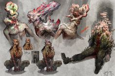 ArtStation - Clicker Male: The Last of Us, Hyoung Nam