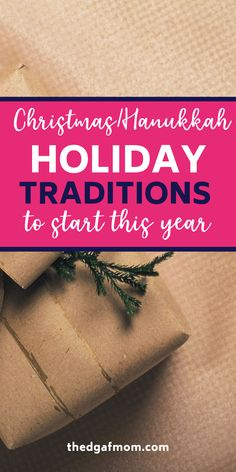 Holiday traditions to help you create lasting memories for years to come. Hanukkah traditions and Christmas traditions, for those who celebrate the holiday season and love to start a new family tradition for kids. Hanukkah Crafts, Christmas Hanukkah, Hannukah, Christmas Holidays, Hanukkah Traditions, Christmas Traditions, Traditions To Start, Family Traditions, New Year Holidays