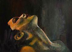 Wedad A. Oil on canvas #art #wedad