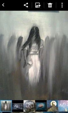 Girl i painted for Mel