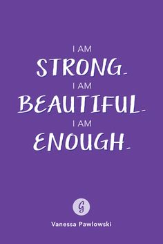 Say this to yourself every day. #healthy #confidence http://greatist.com/grow/body-positive-mantras