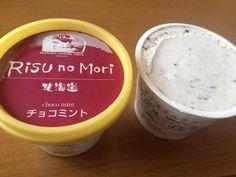 """Rising no Mori"" chocolate mint ice cream cup"