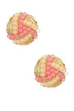 Bora Bora Coral Earrings