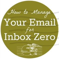 Here are 7 tips to help you spend less time on your inbox, more on your to-do list. #inboxzero