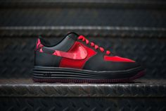 Nike Lunar Force 1 Low: Red Camo
