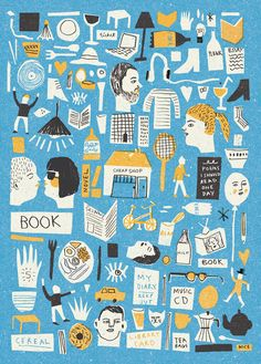 Student Life - Louise Lockhart | Illustration | Design | The Printed Peanut