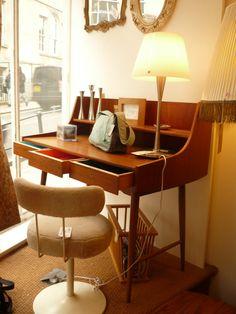 Danish bureau desk- LOVE!
