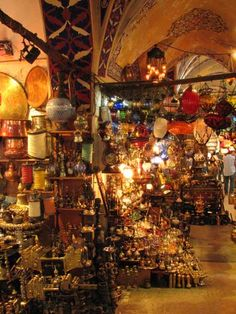 Grand Bazaar - istanbul, turkey what an incredible place