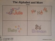 "Shadow Embroidery Design Plate ""The Alphabet and More 