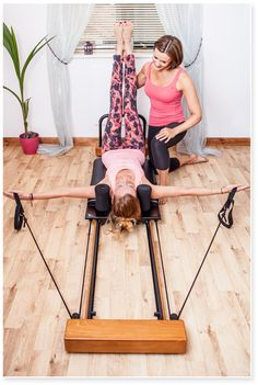 My old Reformer machine, now known as poor old Joe has been with me for 11 years at Hummingbird Pilates and Yoga. Watch this space for pics of our brand new awesome machine!