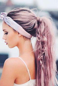 Nouvelle Tendance Coiffures Pour Femme  2017 / 2018   24 Coiffures d'été faciles à faire vous-même Notre collection de coiffures d'été faciles