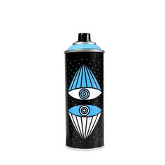 SuperBlast is a German street artist and graphic designer best known for his cyan blue skull-faced icons combined with religious symbols. Uslu Airlines, Berlin, Spray Can Art, Religious Symbols, Painting Tools, Street Artists, Montana, Graffiti, Contemporary Art