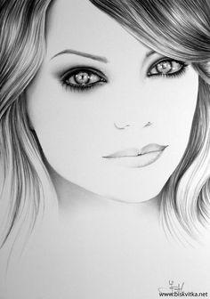 Портретни рисунки с молив на Ileana Hunter / The Art of Ileana Hunter