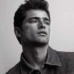 Sean O'Pry Channels James Dean in New Portrait Series ❤ liked on Polyvore featuring sean o'pry and people