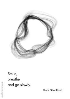 Inhale..exhale...be...