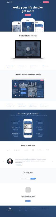Landing page full