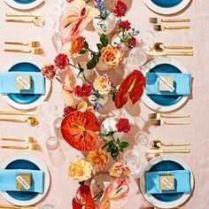 """<p>After launching her career with natural, rustic arrangements, floral designer Taylor Patterson of the Brooklyn studio <a href=""""http://www.foxfodderfarm.com/"""">Fox Fodder Farm</a> has moved on to Technicolor hues and playful shapes. We're wild about the results.</p>"""