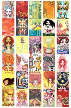 love your true colors, oracle cards. $37.00, via Etsy.
