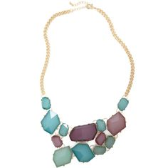 Treasured Guest Necklace ($30) ❤ liked on Polyvore