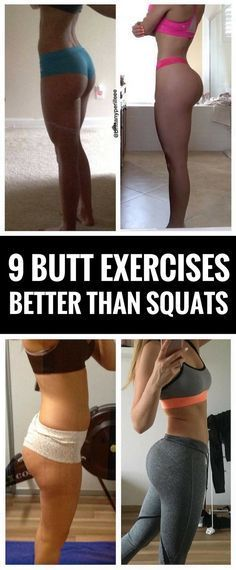 9 exercises that work your butt harder than squats.