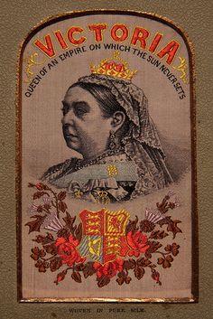 Boer War era, Queen Victoria Embroidery by __Wichid__, via Flickr