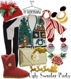 disneybound ugly sweater party