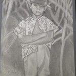"""""""Sugar Field"""" 8 1/2x11 Pencil"""