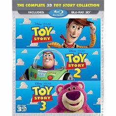 Toy Story Trilogy [Blu-ray 3D] Today 11/06/12 $48.99 Will make a great gift!!