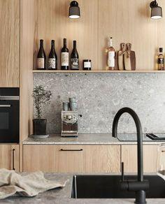 73 stunning and surprising kitchen design trends and ideas ~ House Design Ideas Rustic Kitchen Design, Interior Design Living Room, Home Interior, Interior Ideas, Küchen Design, House Design, Design Trends, Design Ideas, Kitchen Decorating