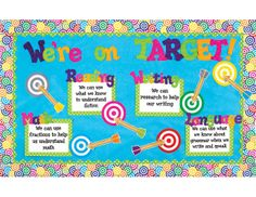 Great bulletin board idea to show what your class has accomplished
