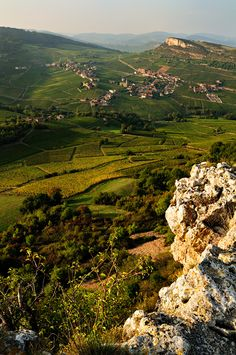 Two rocks - Burgundy - France