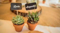 20 idées originales de marque-places pour votre mariage