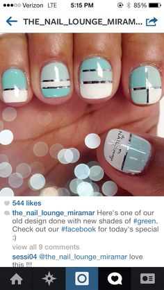 From nail lounge