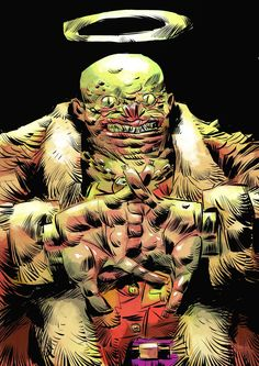Batman Rogue Gallery: Killer Croc by Pal Andersen