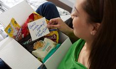 Send a care package to your student! Care Package Program