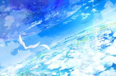 awesome animal bird clouds feathers original scenic sky yatsude free images wallpaper Check more at http://www.finewallpapers.eu/pin/1607/